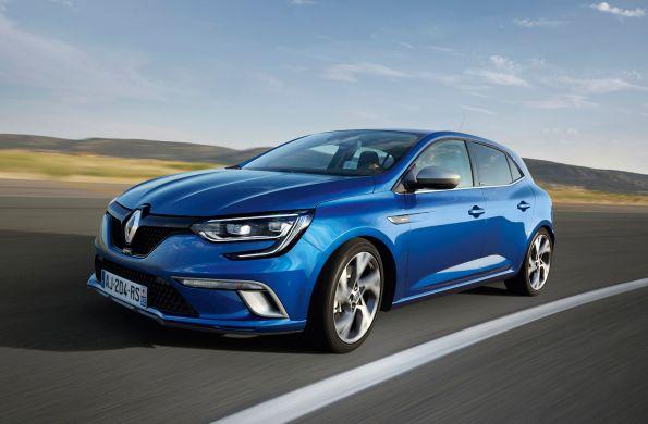 New Renault Megane, elegance on all four sides