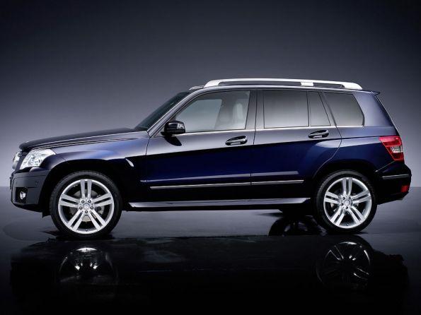 The Mercedes GLK, Luxury SUVs