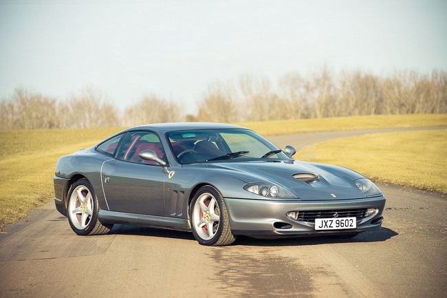 An unusual edition of the Ferrari 550 Maranello looks for home for its 485 hp